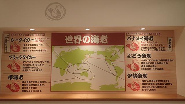 日本一の特大海老ふりゃーに使われているのは「シータイガー」という種類らしいです。