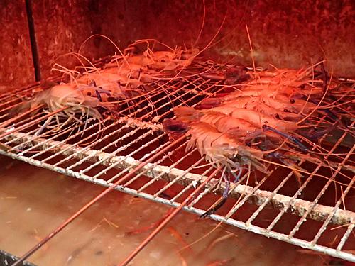 とびきり新鮮だけど、しっかりと火を通すのが美味しく食べるコツ。たぶん。