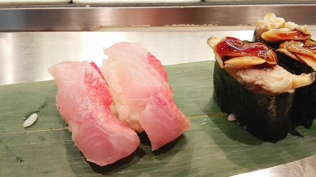これは都内の立ち食い寿司屋