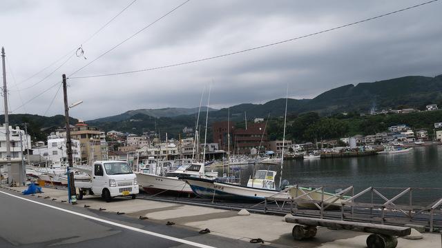 稲取は漁港以外には本当に何もない街