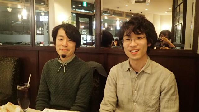 右から、辞書マニアの稲川さん、見坊さん