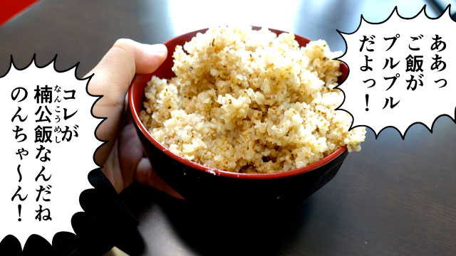 戦時中はお米を節約するためにこんなのを食べていたそうですよ