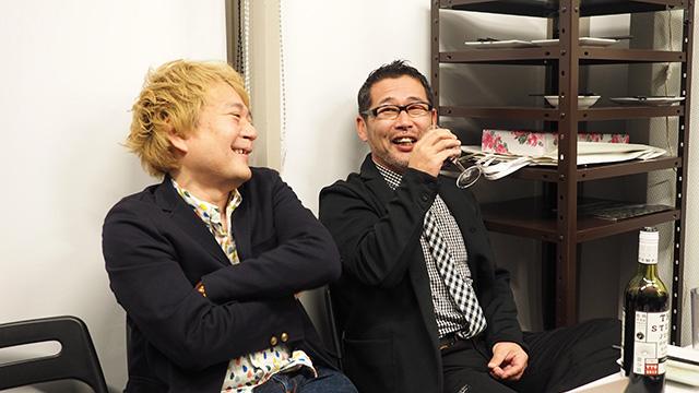 デイリーのWebマスター林さんと藤村Dが並ぶ姿を見てワナワナした。こんな日が来るなんて!