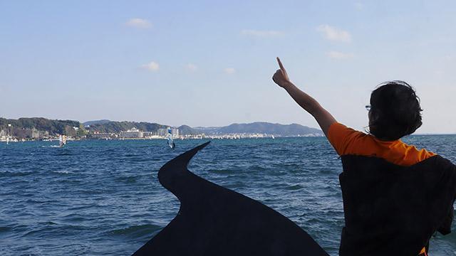 海を割って道を作ります!