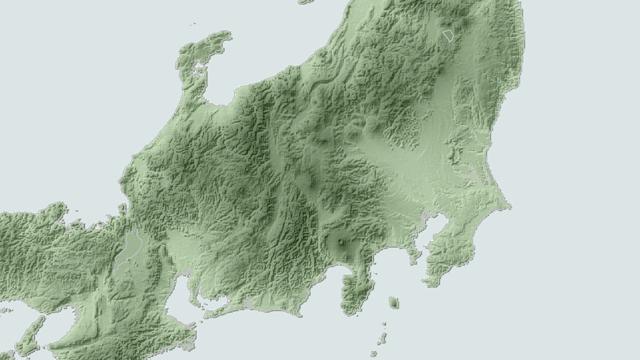 静岡県の北側はガッツリと山地で、日本海からの雪雲の通り道がない。