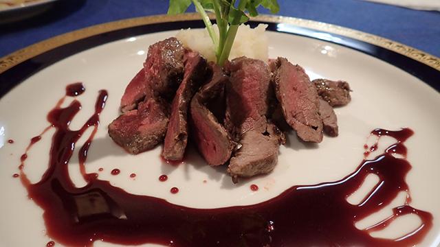 これがトナカイ肉。