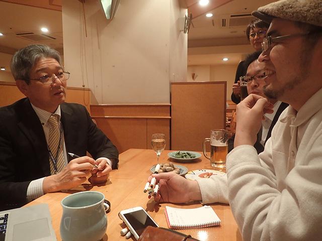 「あの時は大変だったんだよ、いろいろ反対されてさ~」と高山さん。しれっと言うけどその反対した相手ってあのNASAだ。