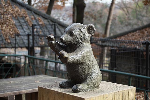 クマはかわいい。