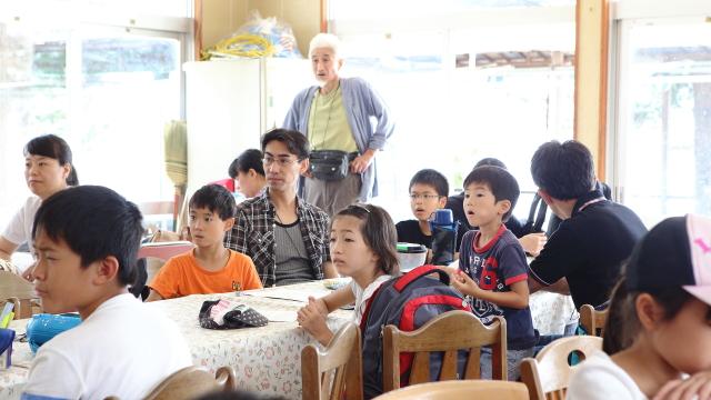 「えっ……」と絶句する参加した子どもたち。「兵庫ってどこ?」と、聞き慣れない名前に首を傾げる子がチラホラ。