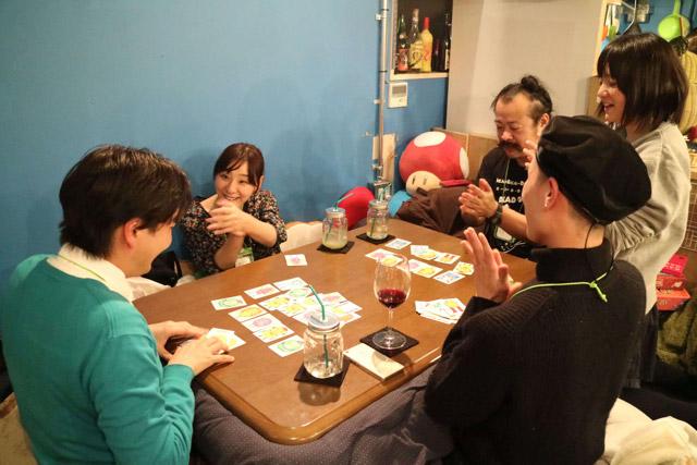 社長の窪田さんがこのゲームの勝者となった。本人もこのゲームは相当気に入ったようだった。
