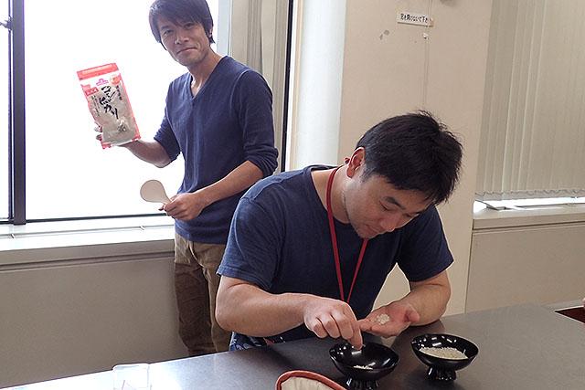 安藤さんは無洗米をそのまま使う。特にすることがないらしい。