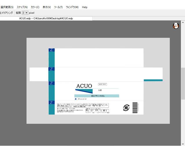 寸法通りに展開図を作って、フォーマットどおりに項目を入力していく