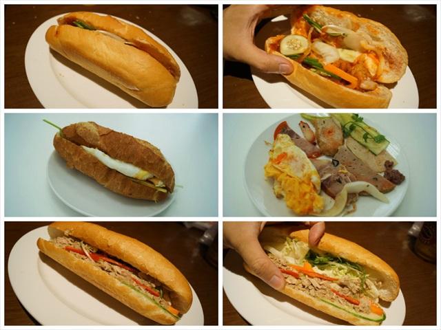 サンドイッチ好きの憧れであるバインミーのベトナムでの様子が丸分かるレポート。思った以上に想像もつかないものがしかもいろいろ入ってる。異文化!