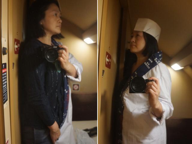 あるときは女性のおひとりさま、またあるときは珍しい女性寿司職人。こんなスパイいやだ。