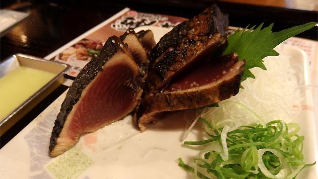 東京にいても週に2回ぐらいカツオを食べるぐらい好きです