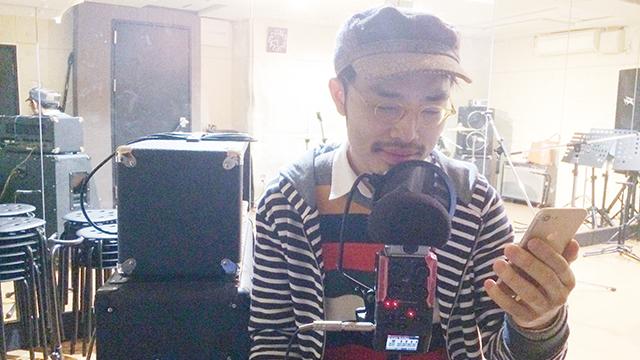 今年のナレーションは仕込みiPhoneなどの森翔太。無音のとこで録ると雰囲気がちがう。いつものラジオDJの岡田さんに頼む時間がなくなってしまった…
