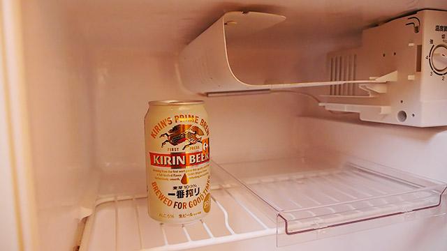 ビールは冷たいものです!