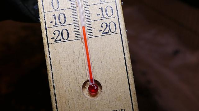 現在マイナス12度です!