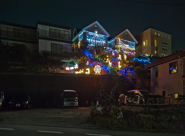 あと、クリスマス時期にはこういう浮かれた斜面状態が
