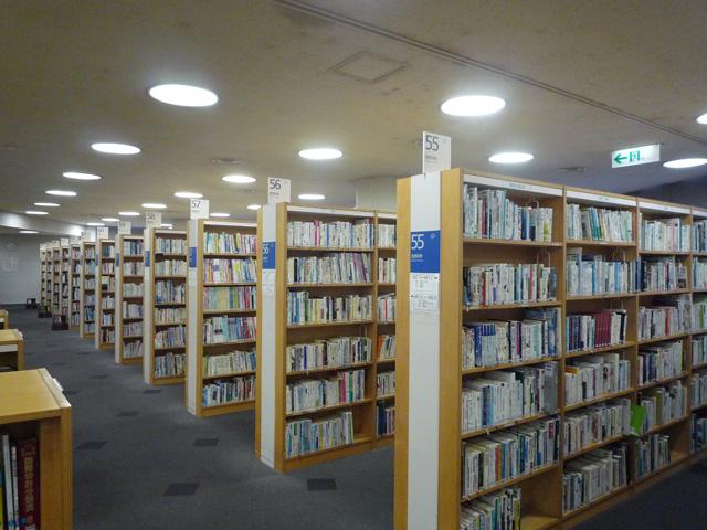 中央図書館で資料を探す