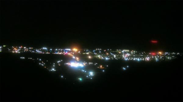 おー町の夜景だ。きれい。