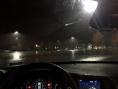 土砂降り!!