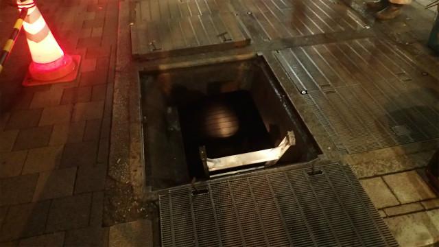 本当に営業していたのかと思うほど穴が小さい。