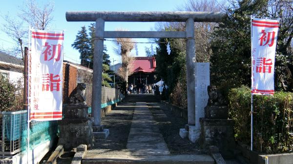 改めて紹介。神奈川県藤沢市にある「下土棚白山神社」。