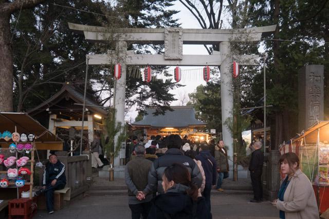 蕨市は成人式発祥の地であり、僕も昨年30歳になり成人したので(ここでは30歳成人説をとっています)今回は記念の初詣という意味合いもある。