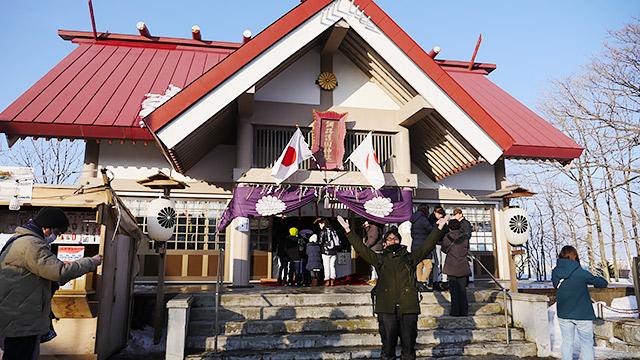 厳島神社の中にある神社です!