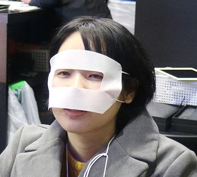 VR用の保護マスクが一番おもしろかった