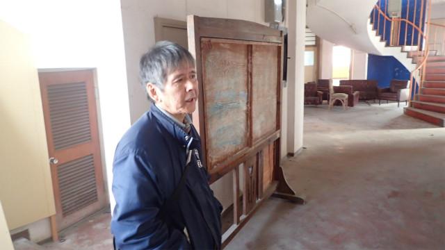 稲嶋さんは円形校舎の卒業生だ