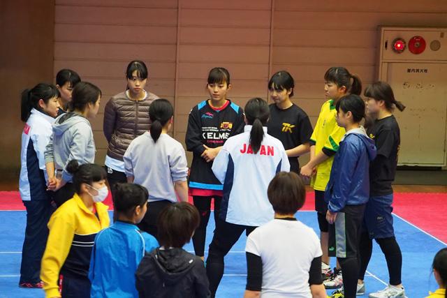 女子の参加者もけっこういて驚いた。