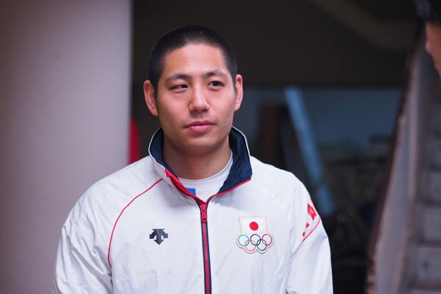 日本代表の河野貴光さん。