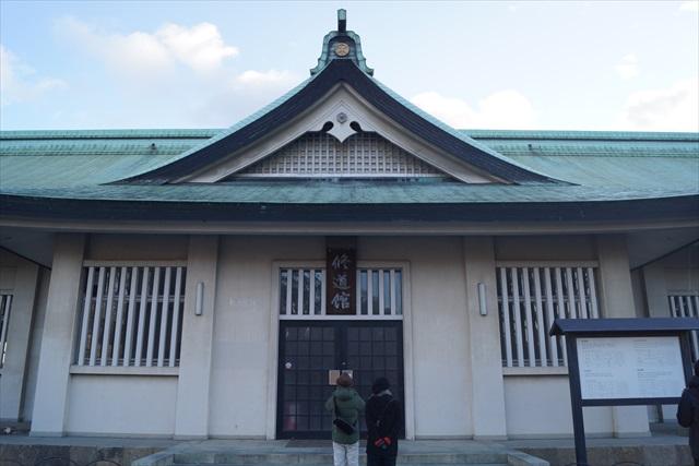 神社の社務所っぽいけど道場です。