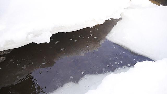 下は水があります!