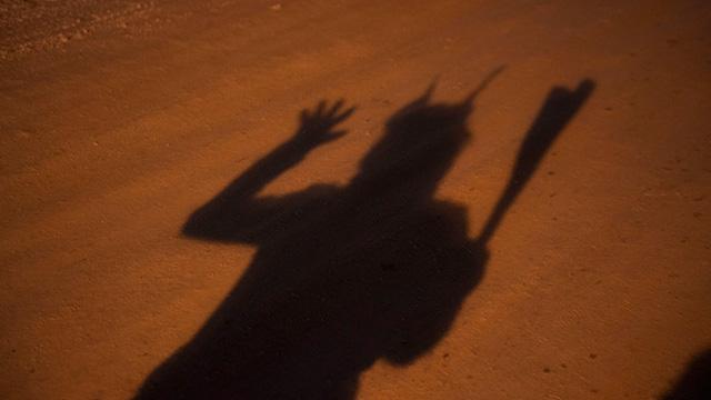 影は完全に鬼!