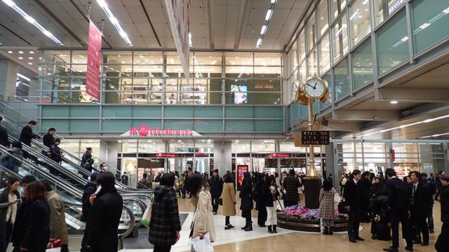 名古屋駅はすごくきれいになりましたよね。