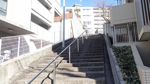 山寺か、というくらいの階段。
