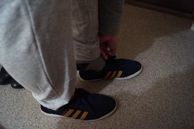 靴も履いたし、