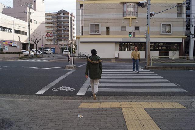 信号を越え(!)、
