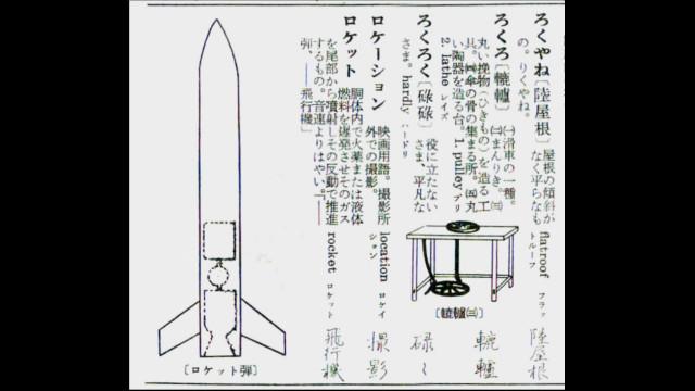 ロケットの項目
