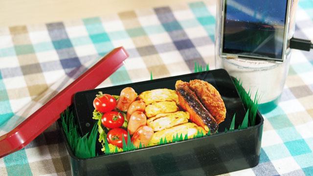 弁当箱と中身の画像があれば、弁当は表現できる