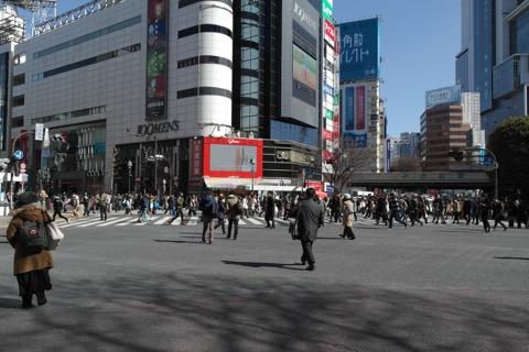 渋谷にやってきた。人いっぱい。