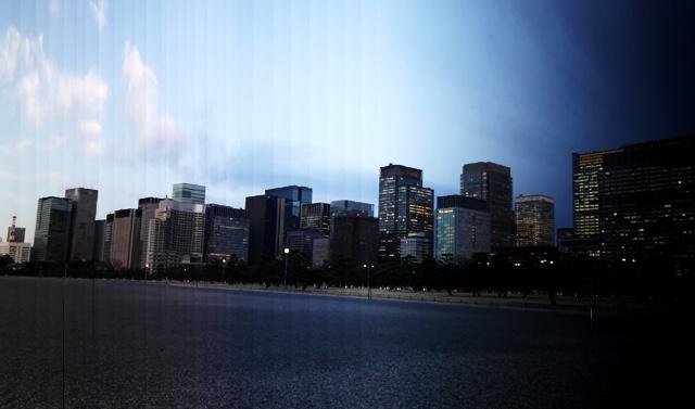 東京駅方面の景色