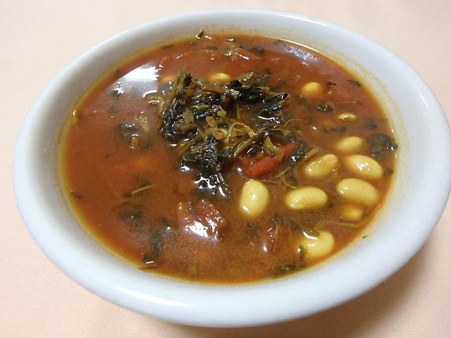 外国の田舎町とかの食堂で出てきそうなスープが出来た。