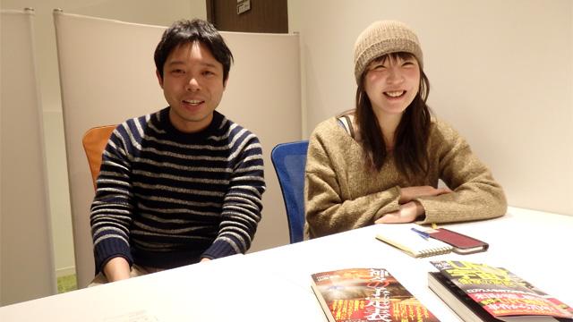 TOCANA編集部大澤さん、編集長角さん