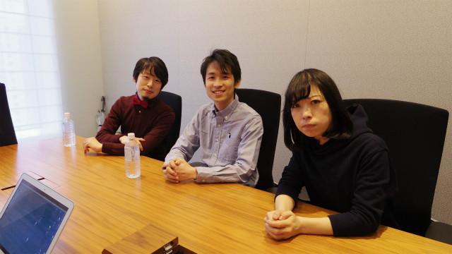 左から、国語辞典マニア見坊さん、稲川さん、DPZ古賀さん