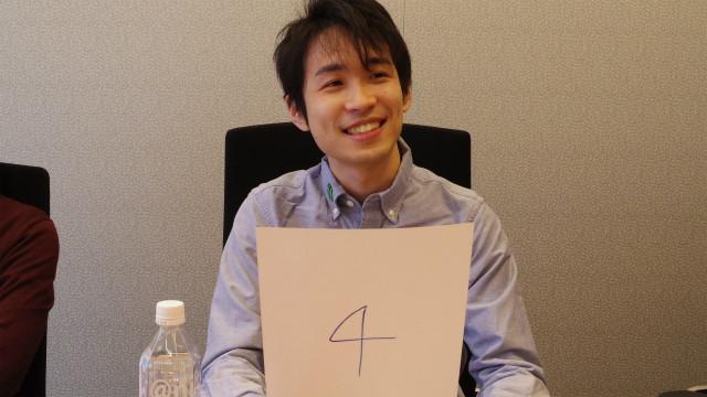 稲川さんは4番