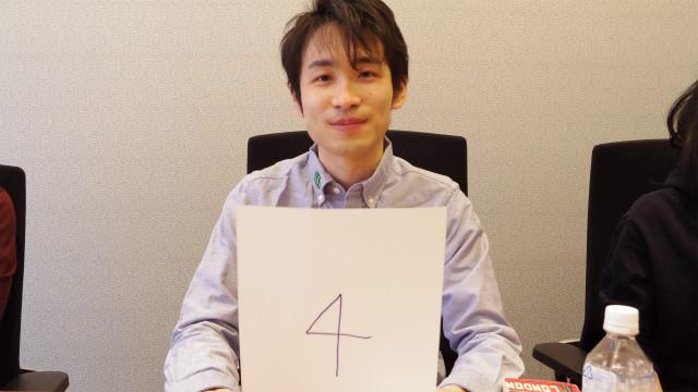稲川さん、4番